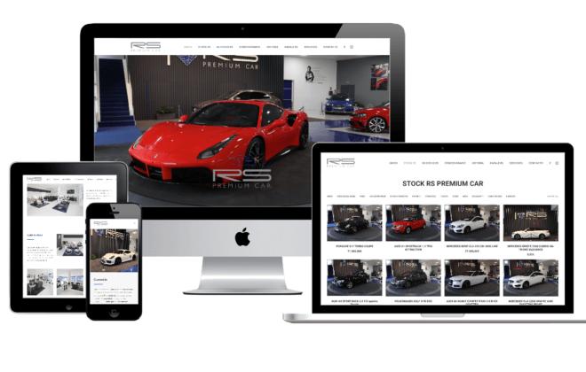 rs premium car desarrollo web galicia